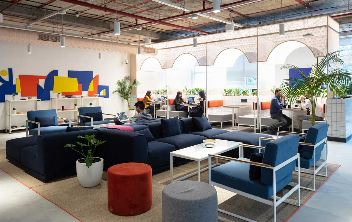 WeWork Blue One Square