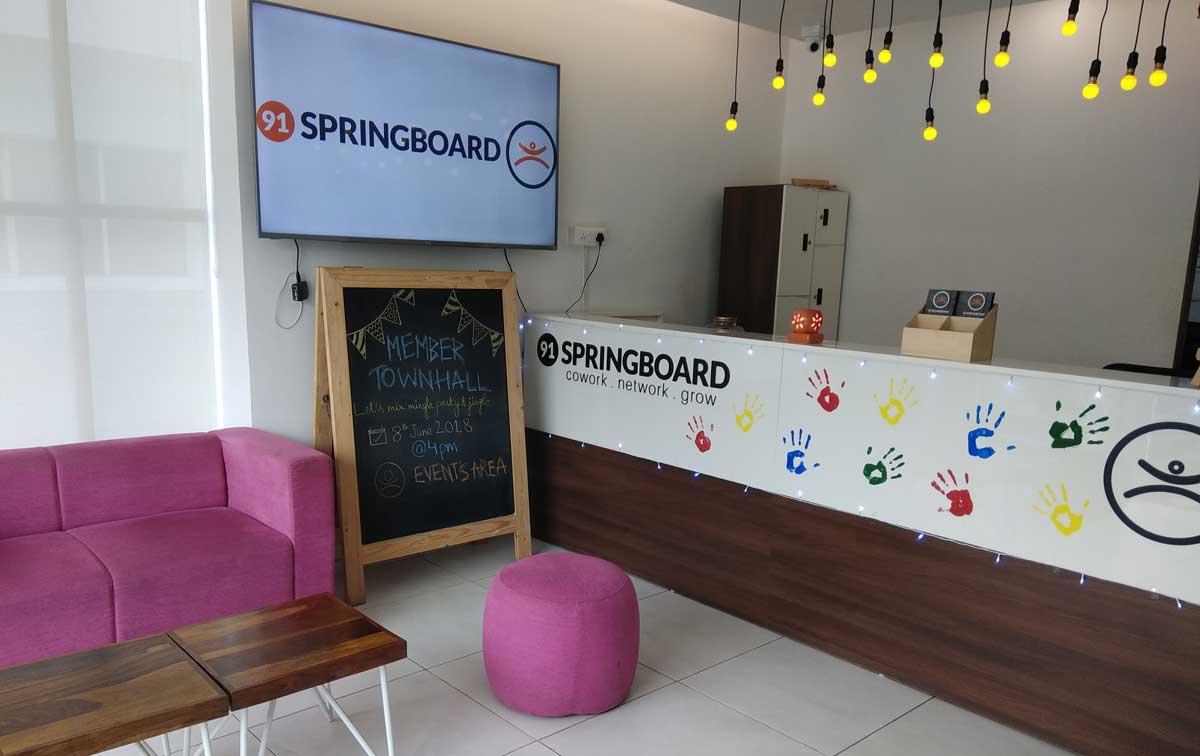 91 Springboard Sector-63 Uttar Pradesh